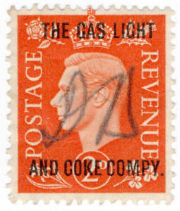 I-B-George-VI-Commercial-Overprint-The-Gas-Light-amp-Coke-Company