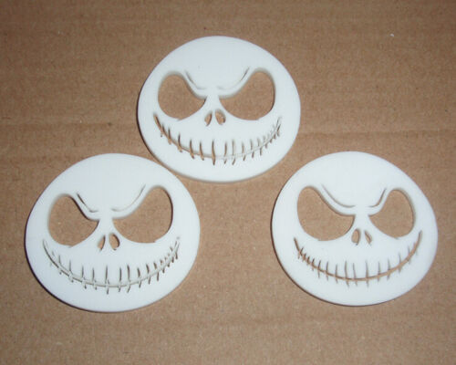 Halloween Nightmare before Christmas Jack cabochons breloques X 3 Kitsch Kawaii