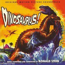 DINOSAURUS (1960) Ronald Stein PERCEPTO Limited CD 1000 copies NEW SEALED OOP!