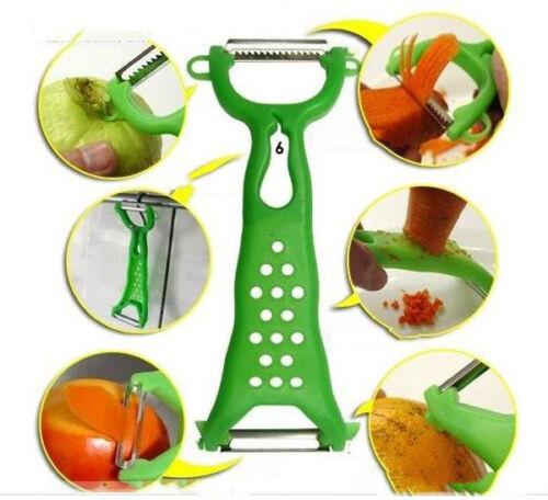 Gemüse Obstschäler Parer Julienne Cutter Slicer Küche Werkzeuge Gadgets  TG