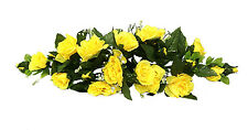 YELLOW SWAG ~ Roses Silk Wedding Flowers ~ Sunbeam ~ Arch Decor ~ Centerpieces