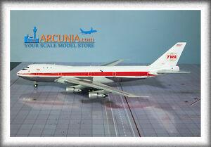 "Inflight200 (1:200) TWA Boeing 747-131 ""N93101"" IF7411116P"