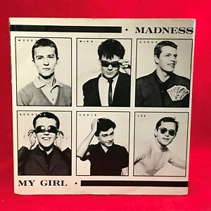 MADNESS-My-Girl-1979-UK-7-034-vinyl-single-EXCELLENT-CONDITION-D