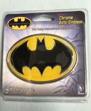 Batman Chrome Car Auto Emblem Paint Safe New Uv Protect