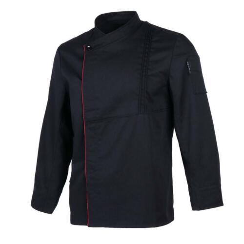 Kochjacke Bäckerjacke Langarm Unisex Kochjacke Uniform Kochhemd Kochkleidung