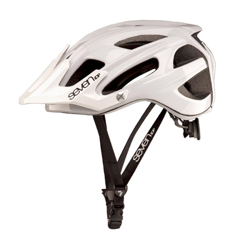Alle Berge MTB Enduro Fahrrad Helm 7IDP M4 Weiß