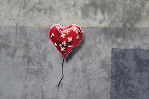 Image Is Loading BANKSY BATTLE TO SURVIVE A BROKEN HEART GRAFFITI