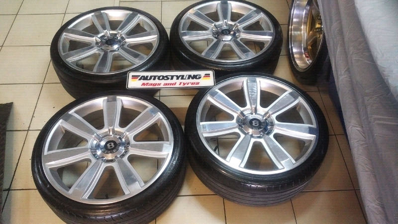 "AUTOSTYLING EAST LONDON - BARGAIN COMBO - 20"" BENTLEY @ R5995 - PCD - 5/112"