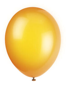 10-Citrus-Orange-12-034-Latex-Balloons-Helium-Quality-Party-Wedding-Air-Fill
