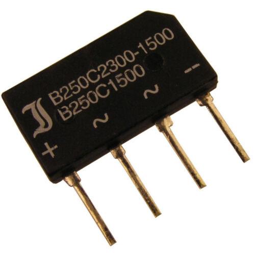 B250C2300//1500A-ww Puente Rectificador 4 Pin B250C2300-1500A