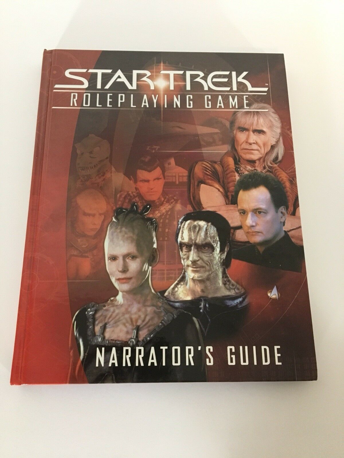 Star Trek Narrator's Guide Hardcover HC Decipher Role Playing Game RPG Book 2002