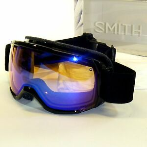 67cac67454f7 Smith Showcase OTG Goggles-Black Lux Blue Sensor Mirror-Eyeglass ...