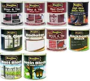 Image Is Loading Rustin Paint Gloss Matt Satin Step High Heat