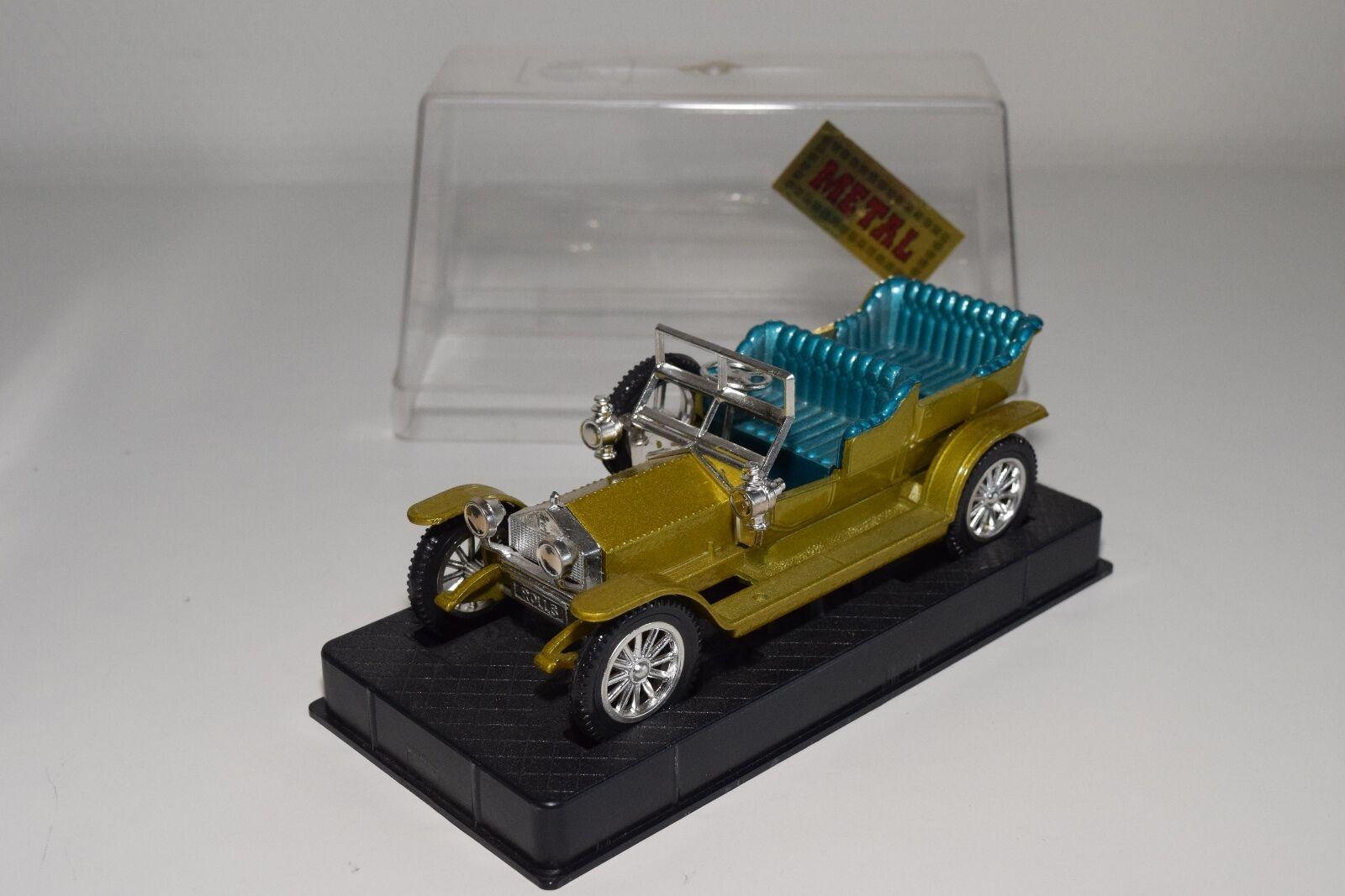 + NACORAL 3824 ROLLS ROYCE 1907 METALLIC MUSTARD giallo MINT BOXED RARE SELTEN