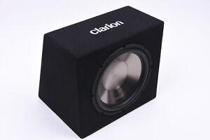 CLARION SB3020X Subwoofer-Kiste Bassbox mit 1.000 Watt Musikleistung  Auto PKW