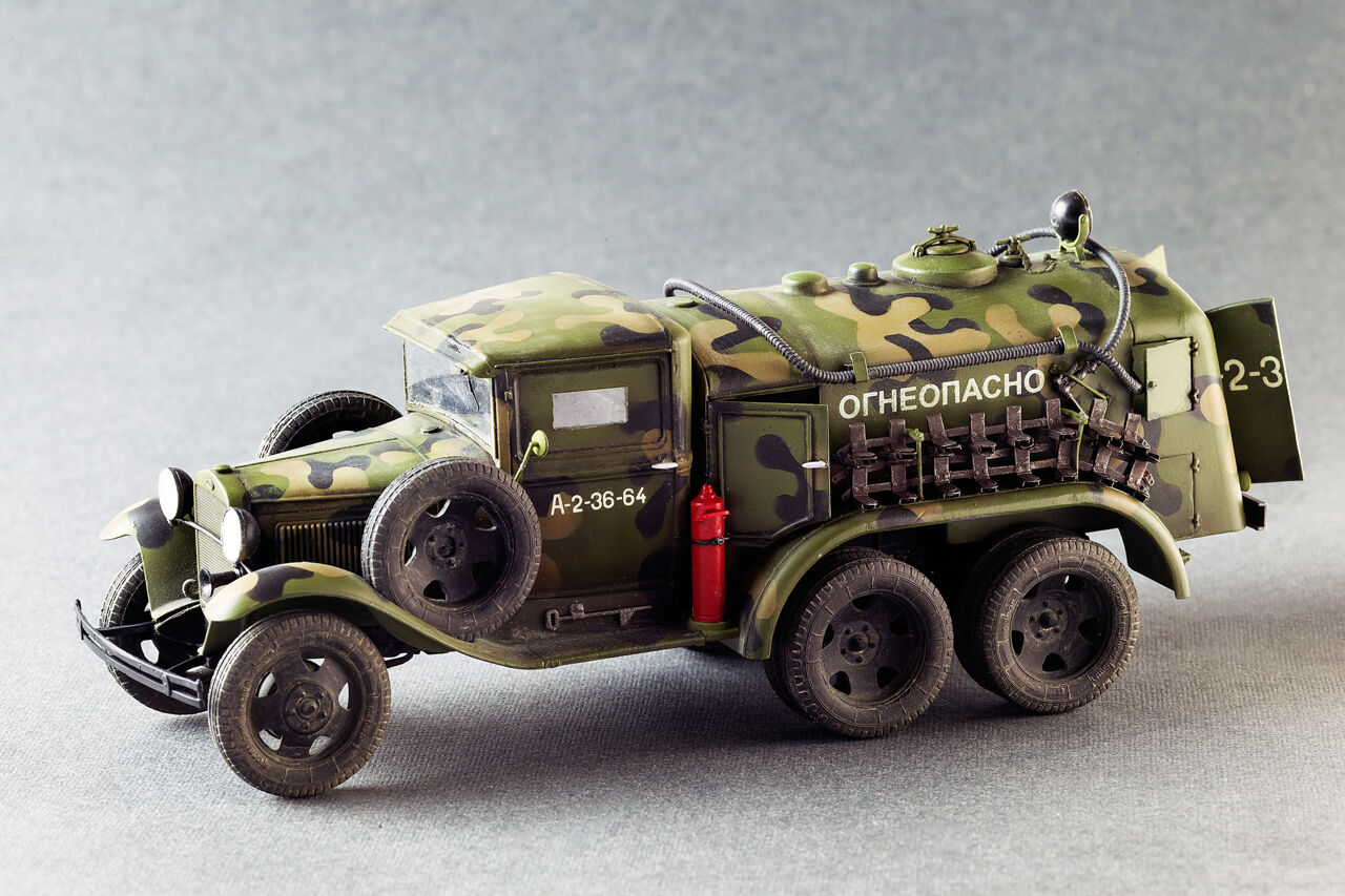 PLASTIC MODEL CAR BZ-38 REFUELLER 1 35C MINIART 35145  MILITARY CAR PERIOD WW II