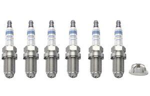 6-x-Bosch-Bujias-Super-4-se-ajusta-Audi-Daimler-Jeep-Rover-Saab-Suzuki-Volvo-Conjunto