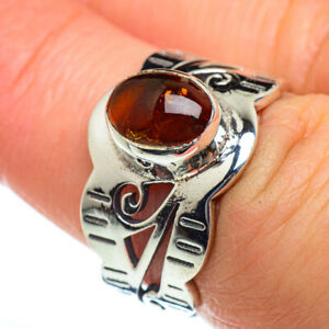 Baltic Amber 925 Sterling Silver Ring Size 7 Ana Co Jewelry R46992F