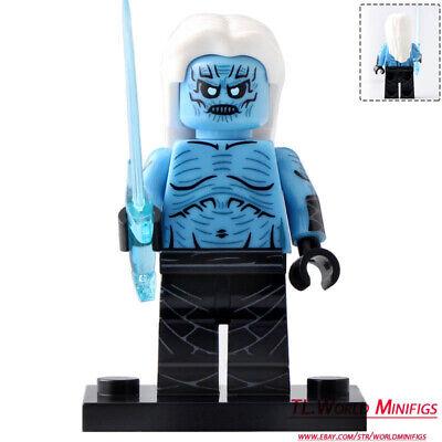 Large Japan Animations Lego Moc Minifigure Toys Gift Kids Red Lotus Godzilla