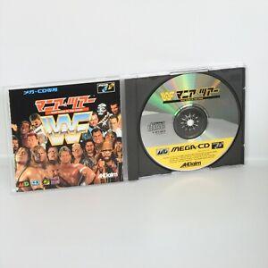 WWF-MANIA-TOUR-Rage-in-the-cage-Sega-Mega-CD-0496-mcd