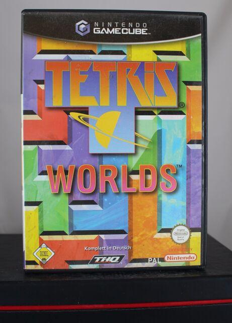 Tetris Worlds (Nintendo GameCube / GC, THQ, 2002) komplett, sehr gut