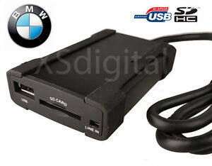 Bmw Usb Sd Interface Adapter Aux E46 16 9 Navigation 3