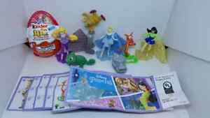 Kinder JOY Disney Princess USA 2018. complet set + all Bpz ...