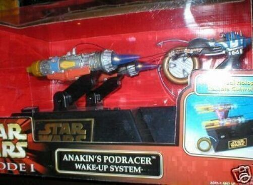 ANAKIN SKYWALKERS POD RACER WAKE-UP SYSTEM , FANTASTIC CONDITION
