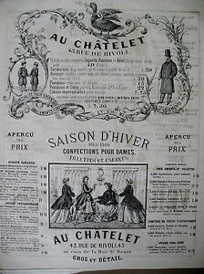 PUBLICITE-DE-PRESSE-AU-CHATELET-CONFECTIONS-VETEMENTS-RUE-DE-RIVOLI-PARIS-1866