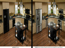 Appliance Laminate Satin Stainless Steel LOOK Film Foil Wrap Overlay Cover