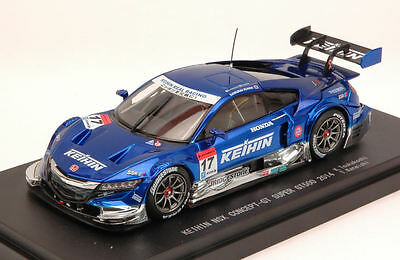 Honda Nsx #17 12th Super Gt500 K. Tsukakoshi / T. Kaneishi 1:43 Model 45073