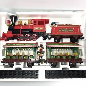 Walt-Disney-World-Resort-Parks-Railroad-Train-Set-Mickey-and-Friends-READ