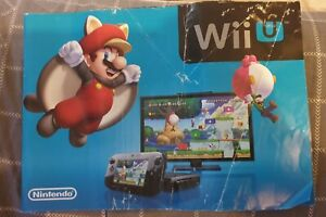 Nintendo Wii U Promotinal Brochure Leaflet Free Postage