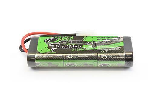 Tornado Baja Battery 7.2v 2400 mAH NiMh Stick Pack for RC Tamiya Connector Plug