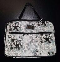Gigi Hill Jayne Fleur De Lis Large Makeup Bag Cosmetics Bag