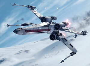 STAR WARS X-FIGHTER SWXF01 A3 POSTER ART PRINT BUY 2 GET 3RD FREE