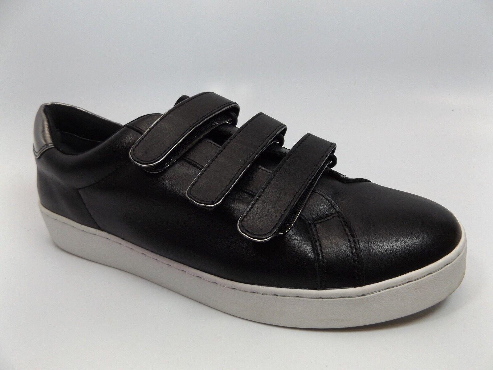 Vionic Orthaheel Orthaheel Orthaheel Technology Women's SZ 10.0 M Bobbi Black Leather Sneakers D9674 244762