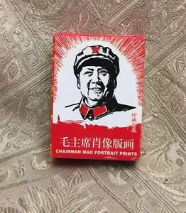 Image Is Loading Collectors Theme Card Chairman Mao Playing Cards