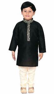 Details About Pakistani Boys Kids Kurta Sherwani With Pajama For Eid Wedding Outfit 913 Uk