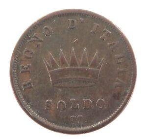 NICE-GRADE-1812-ITALY-ITALIAN-SOLDO-M-NAPOLEON-BUST