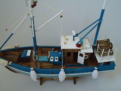 Large Fishing Net Dark Brown 200 cm x 150 cm maritime Ship Fishing Trawler Boat