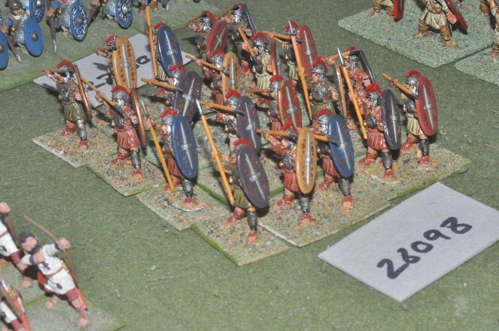 25mm época Romana Romanos-Legionarios 20 20 20 figuras-INF (28098)  precios ultra bajos
