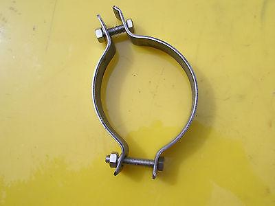 MZ ETZ 125//150 CHROME REAR EXHAUST CLAMP