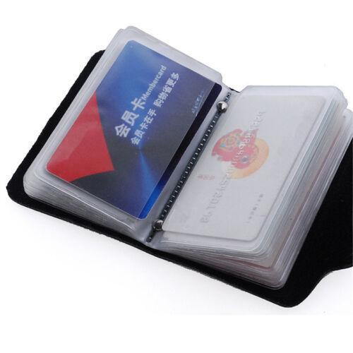 Leder Kreditkarte Kreditkarte Kartenetui ID Halter  Herren Portemonnaie pro