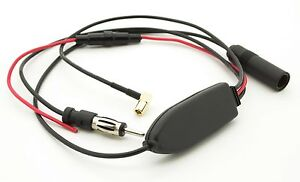 DAB-amp-FM-SMB-Female-DIN-Male-Antenna-Adaptor-with-signal-amplifier