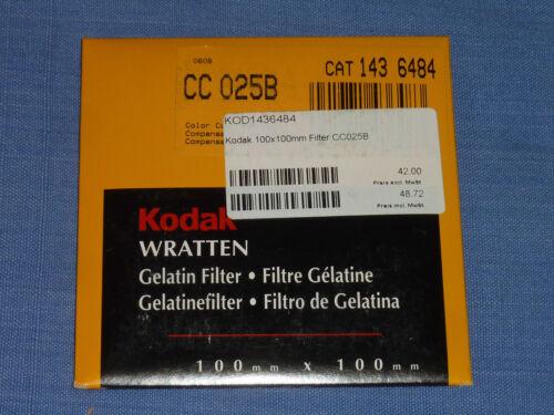 Kodak WRATTEN FILTRI 100x100 CC 25b