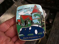 PORSCHE 356 REGISTRY USA 2007 BOYNE HIGHLANDS MI - Plakette Badge 5/5  Ser.#37