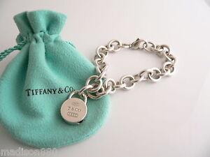 ba7e50ca7 Tiffany & Co Silver 1837 Round Padlock Bracelet Bangle Charm Pendant ...