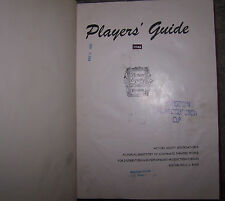 Actors Movie Players Guide Guild SAG TV Stage Agent Agency Casting Director Star