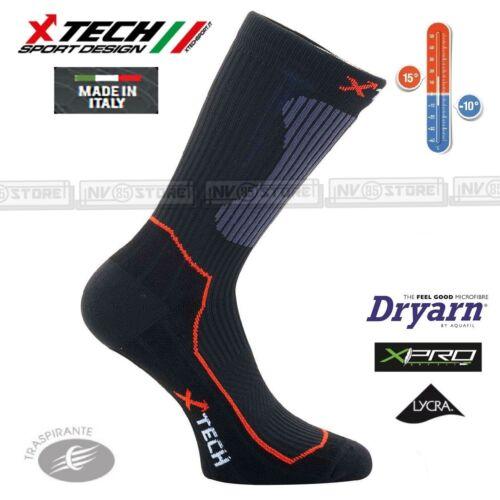Calze XTECH Tecniche X-TECH SPORT XT55 15° 10° Dryarn XPro Lycra Made in Italy